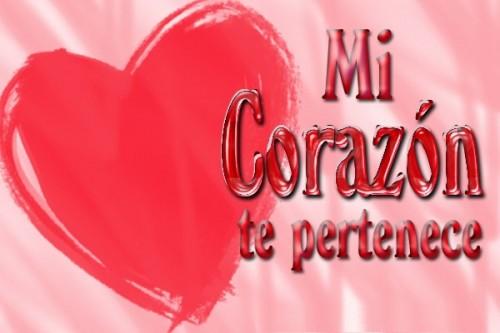 Mi corazon te pertenece e1354292272137 Imágenes para declarar amor