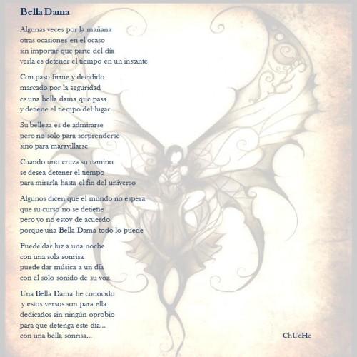 Bella Dama e1354717035165 Bella Dama   Poema de amor