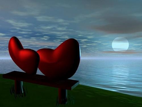 Paisajes de amor con movimiento en 3D - Imagui