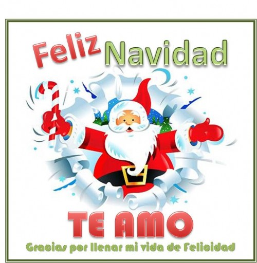 postales de amor navidenos