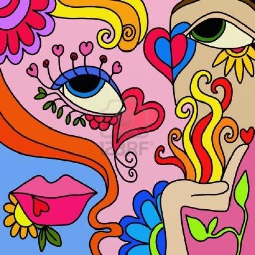 Im genes de amor abstracto for Imagenes de cuadros abstractos para colorear