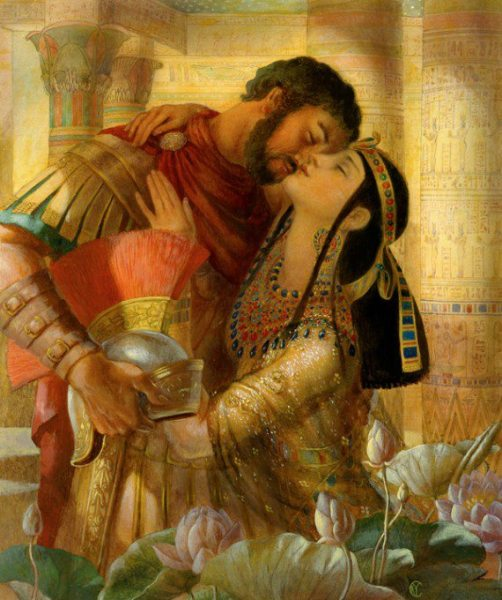 Cleopatra y Marco Antonio