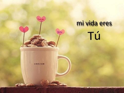 Mi vida eres TU Eres mi vida