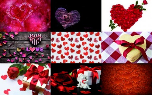 fondos para fotos de san valentin hd1 e1359565168475 Collages de imágenes de amor