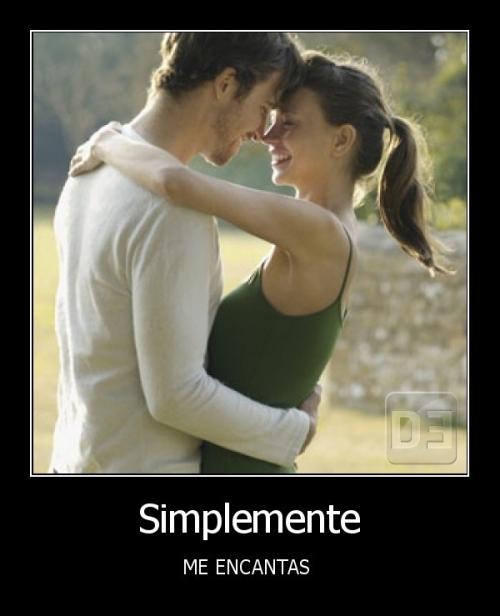 simplemente me encantas1 Imágenes de amor: Me Encantas