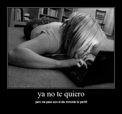 Ya no te quiero