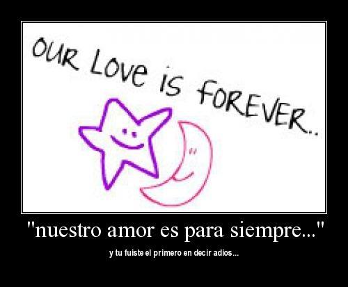 ourloveisforever Nuestro amor es para siempre