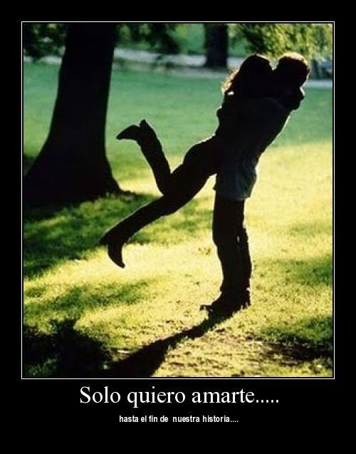 abrazou Quiero amarte