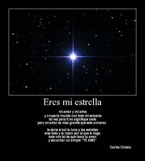 estrella 5 Eres mi estrella