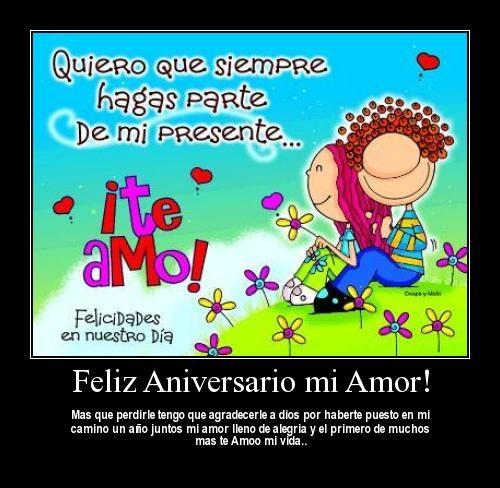 Postales para Desear Feliz Aniversario | Te Amo Web - Imagenes de amor