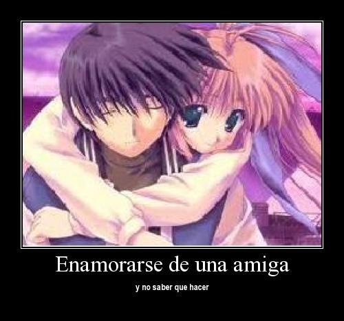 Animes De Enamorados Con Frases De Amor