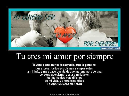 Mi amor por siempre