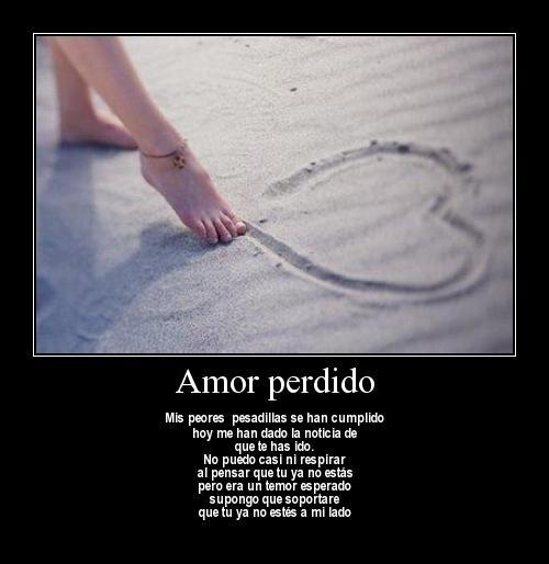 amor perdido