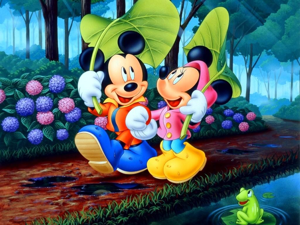 Imágenes de mini mouse y mickey mouse