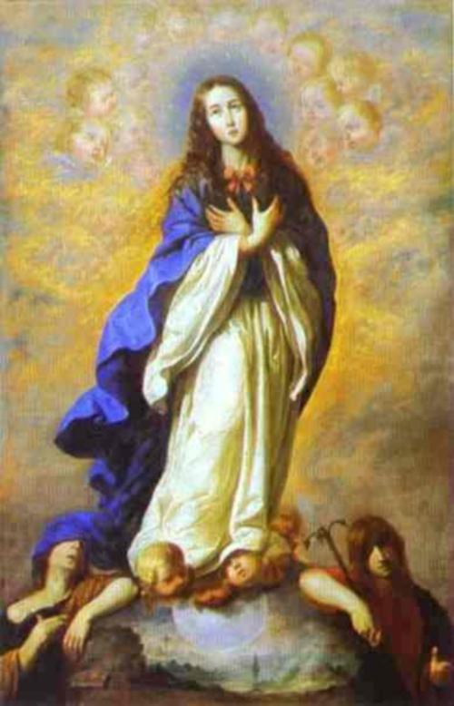zurbaran inmaculada concepcion La purisima
