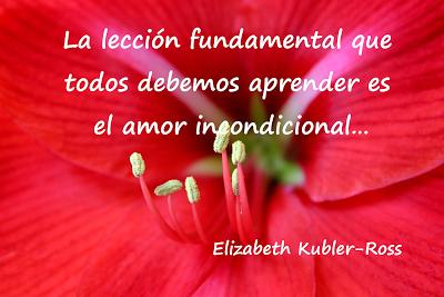 Frase Célebre Amor Elizabeth Kubler Ross El amor en frases celebres
