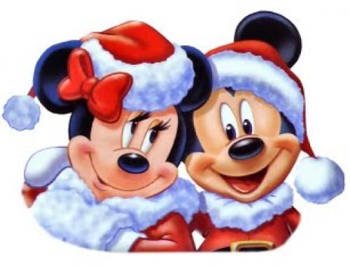 Imagenes de amor navideño de Mickey y Minnie