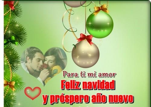feliz navidad amor