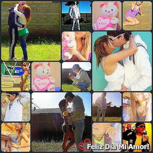 Collages de imagenes de amor
