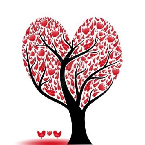 arbol-de-hermosa-amor-abstracto-con-corazones-y-aves