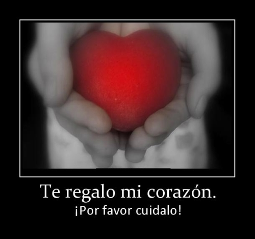 Te regalo mi corazon