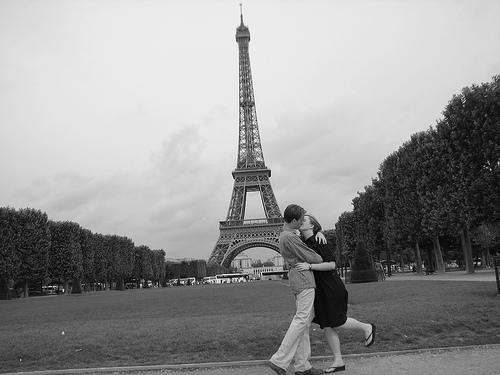 besos en Paris