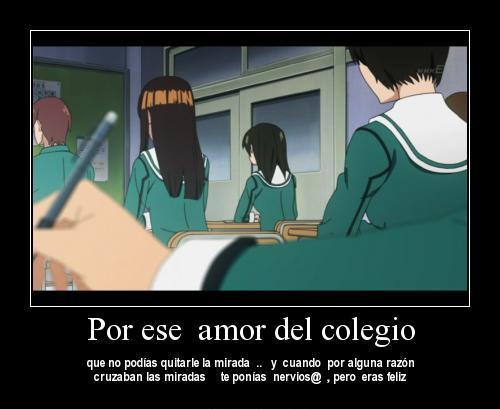 Amor de colegio