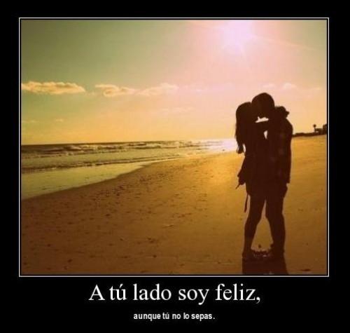 A tu lado soy feliz