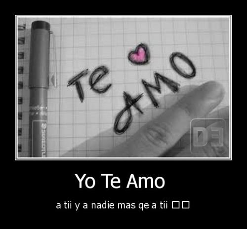 Yo te amo