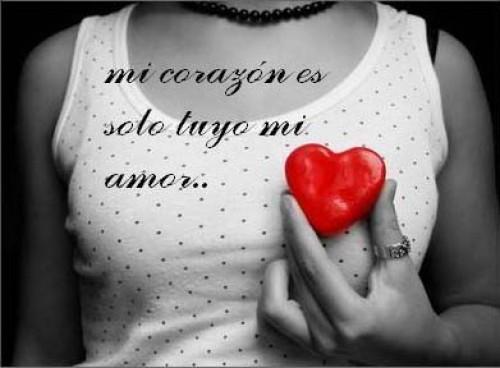 Mi corazon es solo tuyo