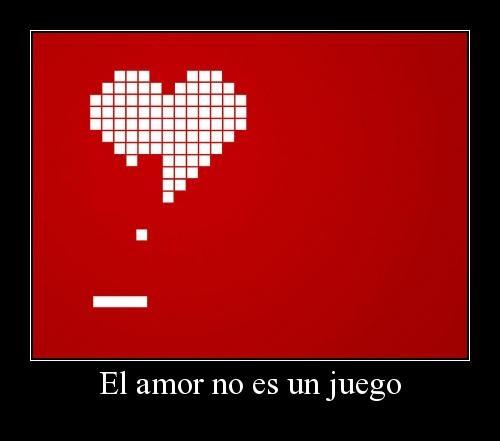El amor no es ningún juego