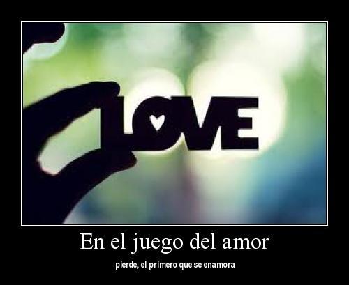 En el juego del amor