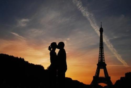Imágenes románticas de París