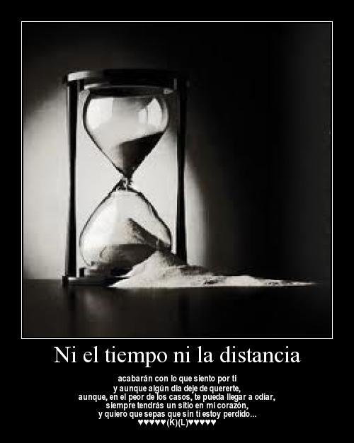 Ni el tiempo Ni la distancia