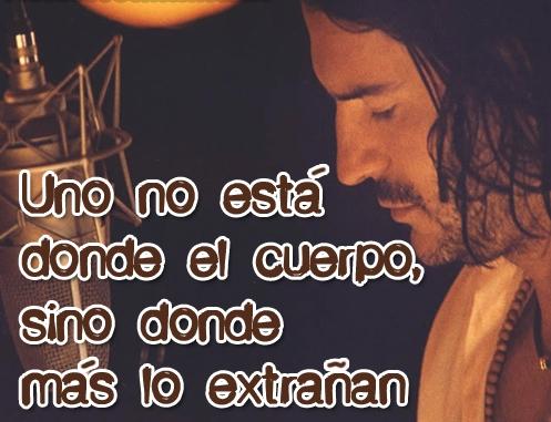Frases de amor de Ricardo Arjona