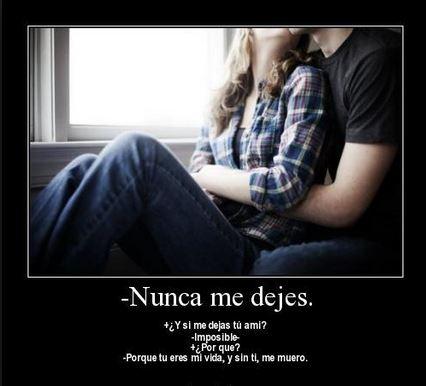 Nunca me dejes de amar