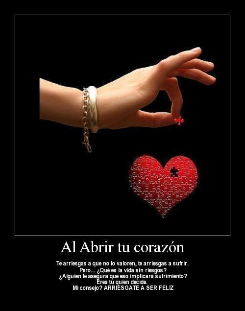 Abrir tu corazon