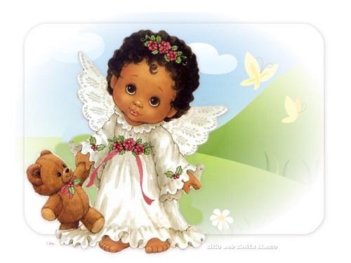 Imágenes tiernas de angelitos