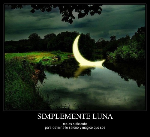 Frases románticas con la luna